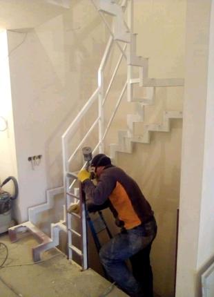 Лестницы уличные, квартирные ,пожарные в дом и офис.