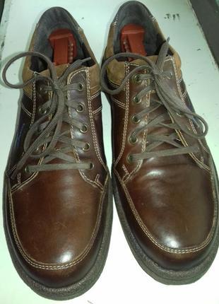 Туфли, мокасины мембранные josef seibel (германия), кожаные, н...