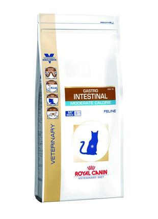Royal Canin Gastro Intestinal Moderate Calorie Feline,2 кг