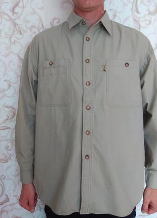 Рубашка длинный рукав батал
