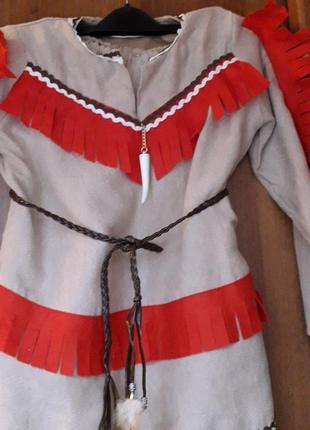 Карнавальный костюм индейца на ребенка 7-10 лет