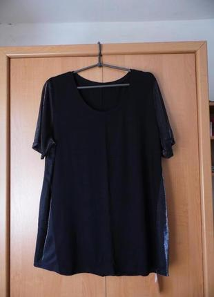 Cornette футболка з люрексовими вставками