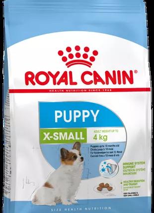 Сухой корм для собак X-small Puppy,3 кг для щенков до 10 месяцев