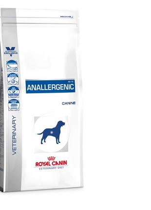 Корм для собак Royal Canin Anallergenic для собак, 8 кг