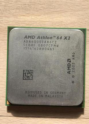 AMD Athlon 64X2 6000 (2 Ядра 3.0 Ghz) / 89W / Socket AM2/AM2+