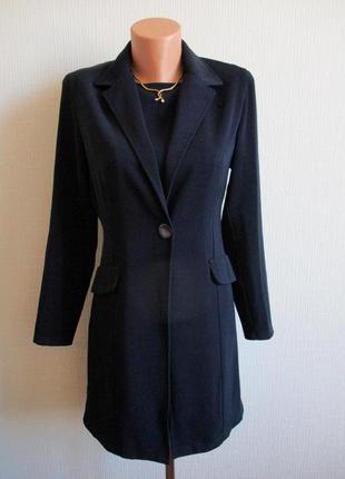 Костюм: удлиненный пиджак и платье escade