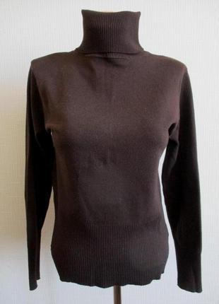 Вязаный свитер-гольф, подарю при покупке любой вещи