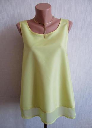 Желтая блуза atmosphere