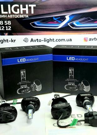 Led Ламы H1CSP Head Light S1 2шт (Комплект 2шт)