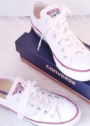Кеди Converse Chuck Taylor All Star Low White