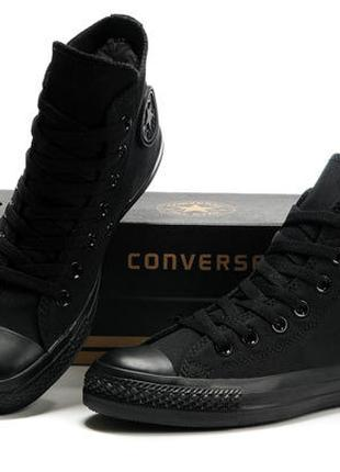 Кеди Converse Chuck Taylor All Star High (Mono Black)