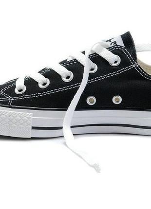 Кеди Converse Chuck Taylor All Star Low Black