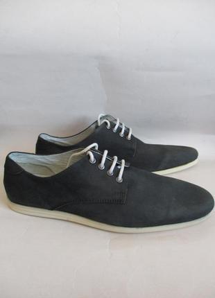 Туфли из натурального нубука san marina