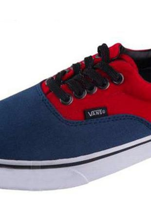Кеди Vans New Era 59 Red/Blue