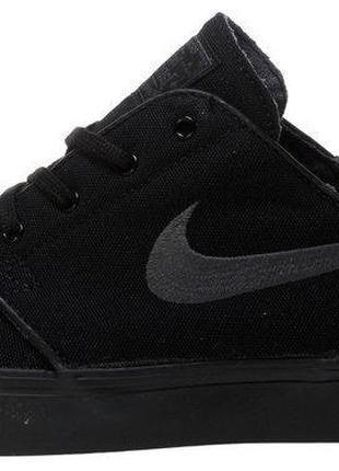 Кросівки чоловічіНайк Nike Stefan Janoski Black, Кеди