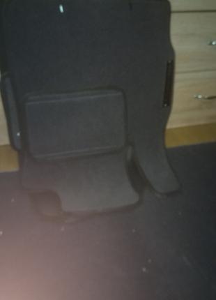 Коврики текстильные для Mazda CX-7 комплект (5+1 в багажник)