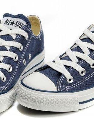 Кеди Converse Chuck Taylor All Star Low Blue