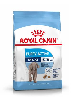 Корм для собак Royal Canin Maxi Puppy Active,15кг