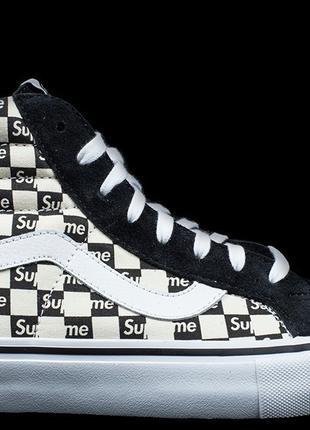 Supreme x Vans SK8 HI