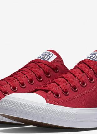 Купити кеди Converse Chuck Taylor All Star II Low Red