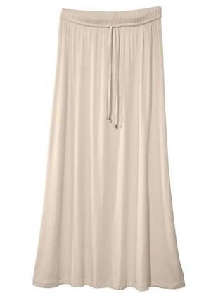 Длинная трикотажная макси юбка в пол esmara