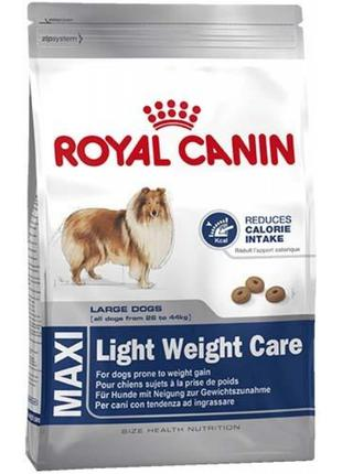 Корм для собак Royal Canin Maxi Light Weight Care, 15 кг.