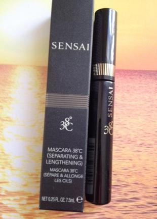 Тушь для ресниц kanebo sensai mascara 38℃ (separating & length...