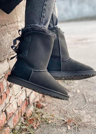 Ugg bailey bow ii boot натуральные женские зимние сапоги угги ...