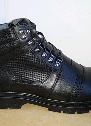Cevivo, зимние ботинки из натуральной кожи.