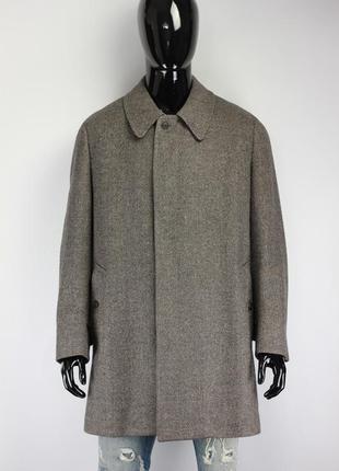 Шерстяное пальто burberrys англия винтаж!