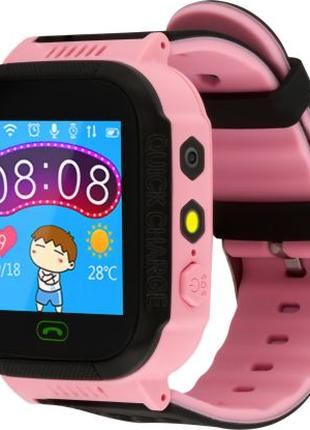 Детские Смарт-часы ATRIX Smart Watch iQ600 Pink