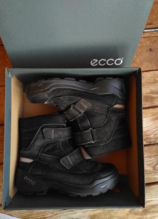 Термо ботинки сапоги 31 размер зимние ecco gore tex