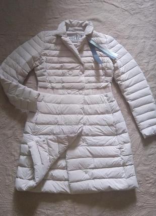 Новое пальто на пуху add приталенное пальто/курка пуховик, ита...