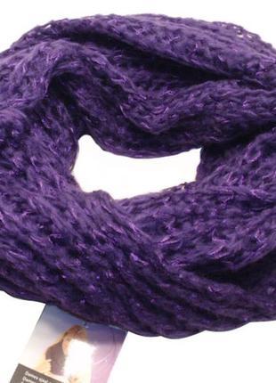 Снуд вязаный крупная вязка хомут шапка-шарф - нидерланды