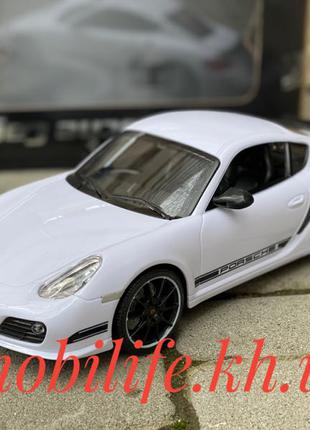 Машинка на пульте управления Porsche Cayman 1:16 27см/Горят перед