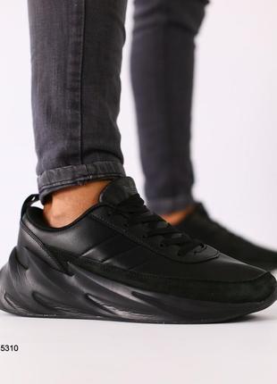 Lux обувь! распродажа! крутые кожаные мужские кроссовки