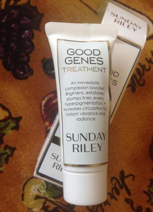 Лечебный крем для лица -sunday riley  good genes  treatment  и...