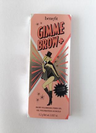 Гель для бровей для увеличения объема / benefit gimme brow+vol...