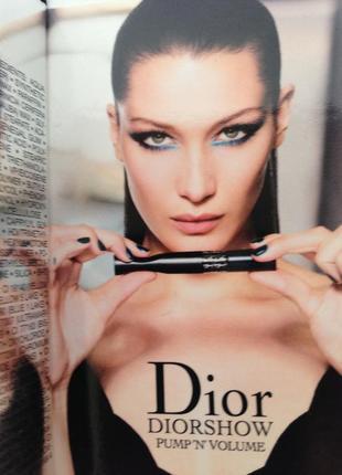 Dior diorshow pump ' n ' volum - элитная сжимаемая тушь