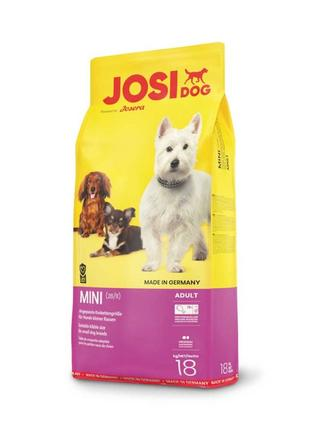 Корм для собак JosiDog Mini ,18 кг