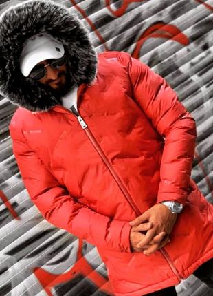 Куртка парка зимняя мужская
