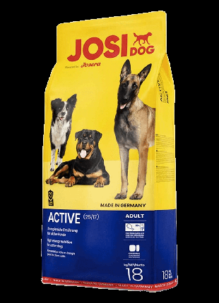 Корм для собак Josera JosiDog Active,18 кг.
