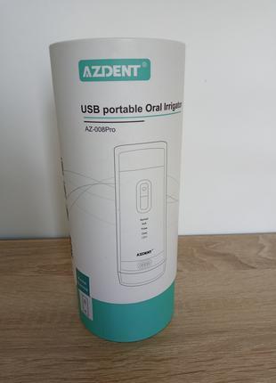 Портативный ирригатор для полости рта зубов десен Azdent