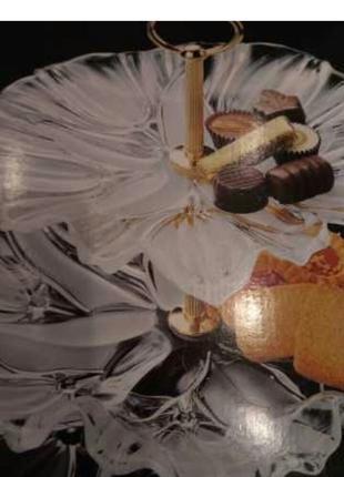 конфетница двухярусная