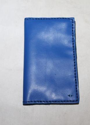 Кожаная обложка на паспорт,документы,блокнот и пр