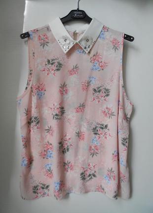 Скидка только 13.12!!! george нежная цветочная блуза с декором...