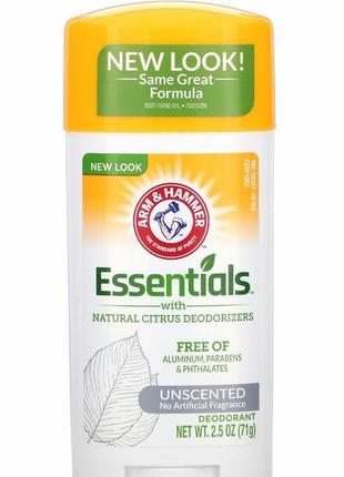 Дезодорант essentials с натуральными дезодорирующими компонент...