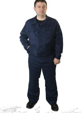 Спецодежда, костюм рабочий, полукомбинезон с курточкой