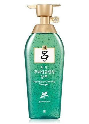 Шампунь для жирной кожи головы с экстрактом хвои ryo scalp dee...