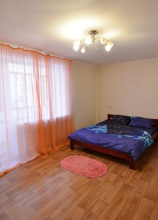 Посуточно уютная просторная квартира на улице Пушкинская!